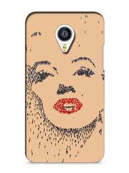 Snooky Digital Print Hard Back Case Cover For Meizu MX4 - Brown