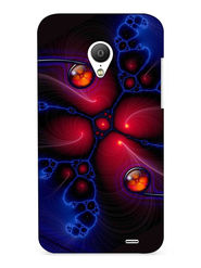 Snooky Digital Print Hard Back Case Cover For Meizu MX3 - Multicolour