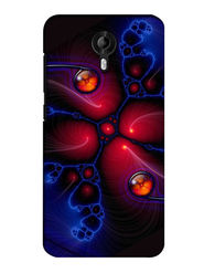 Snooky Digital Print Hard Back Case Cover For Micromax Canvas Nitro 3 E455 - Multicolour