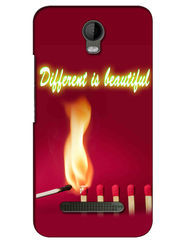 Snooky Digital Print Hard Back Case Cover For Micromax Bolt Q335 - Mehroon
