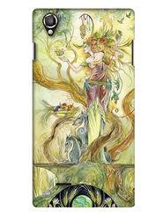 Snooky Digital Print Hard Back Case Cover For Lava Iris 800 - Green