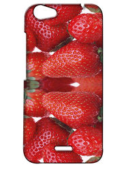 Snooky Digital Print Hard Back Case Cover For Micromax Bolt Q338 - Red