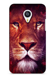 Snooky Digital Print Hard Back Case Cover For Meizu MX4 - Brown