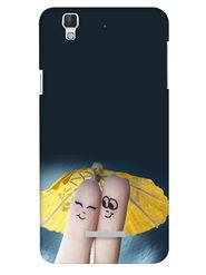 Snooky Digital Print Hard Back Case Cover For Coolpad Dazen F2 - Grey