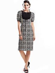 Viva N Diva Printed Georgette Tunic Style Kurti -14308-Vifaa