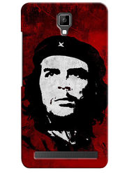 Snooky Digital Print Hard Back Case Cover For Micromax Bolt Q331 - Mehroon