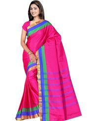 Adah Fashions Pink South Silk Saree -888-114