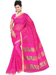 Adah Fashions Pink South Silk Saree -888-132