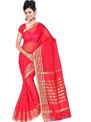 Adah Fashions Red South Silk Saree -888-136