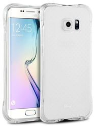 Aeoss Transparent Flexible Soft TPU Drop Protection Shockproof Case Cover for Samsung J7 - White