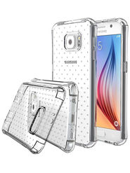Aeoss Transparent Flexible Soft TPU Drop Protection Shockproof Case Cover for Samsung NOT 5 - White