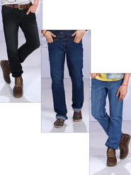 American Indigo Set of 3 Men's Classic Denims