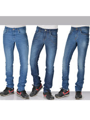 American Indigo Set of 3 Trendsetter Men's Designer Denims