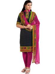 Khushali Fashion Cotton Self Dress Material -Bgssnr44007