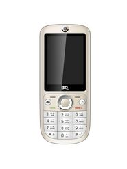 BQ K27 - Gold 2.6 Inch Display, Camera, Bluetooth, GPRS, Dual Sim Mobile