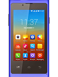 BQ S37 - 3.5 Inch WVGA IPS/ Update to Kitkat 4.4.2 OS/ WEUI 2.0 - Blue