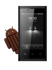 BQ S37 - 3.5 Inch WVGA IPS/Update to Kitkat 4.4.2 OS/ WEUI 2.0 - Black
