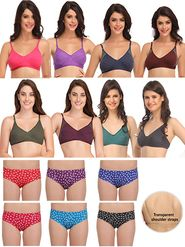 Pack of 15 Clovia Bra & Panty Set-clo02