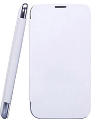 Camphor Flip Cover for Micromax A117 - White