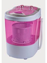 DMR 30-1208 Single Tub 3Kg Mini Washing Machine with Spin Basket - Pink