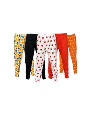 Pack of 5 Little Star Girl's Multicolor Leggings - DWLF_30005_WBRO