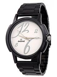 Dezine Wrist Watch for Men - White_DZ-GR093-WHT-CH