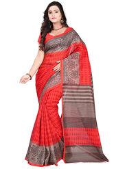 Florence Bhagalpuri silk Printed  Sarees FL-10952