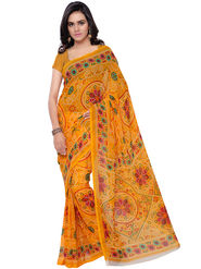 Florence Printed Faux Georgette Sarees -FL-11218