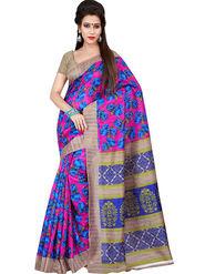 Florence Printed Bhagalpuri Silk Sarees FL-11710
