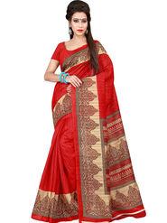 Florence Printed Bhagalpuri Silk Sarees FL-11721