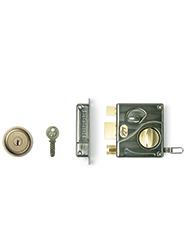 Godrej Ultra Tribolt 1CK Rim Lock - Antique Finish
