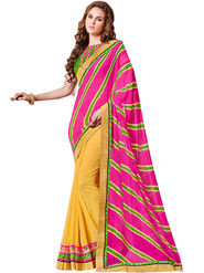 Indian Women Designer Printed Georgette Saree -Ic11209