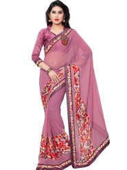 Indian Women Chiffon Saree -IC40412