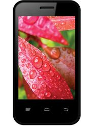 Intex Cloud VX Smart Mobile Phone - Black