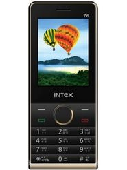 Intex Turbo Z6 Dual Sim Phone - Black Champagne