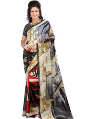 Arisha Georgette Printed Saree -Khgsstar192
