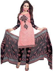 Khushali Fashion Crepe Printed Dress Material -Kpplk10007