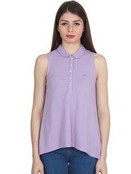Levis Solid Matty Purple Polo T-shirt -os04