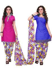 Khushali Fashion Crepe Printed Unstitched Dress Material -NKFSKS65001