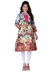 Viva N Diva Cotton Floral Print Kurtis -Navya-Vnd-26