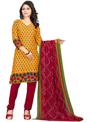 Khushali Fashion Crepe  Printed Unstitched Dress Material -PFCS508