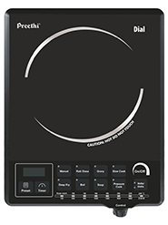 Preethi Dial IC 103 Induction Cooktop - Black