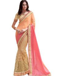 Indian Women Satin Chiffon  Saree -Ra10510