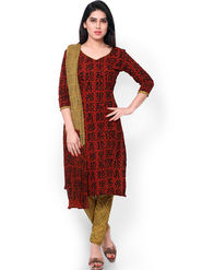 Florence Printed Cotton Dress Material -SB-3187