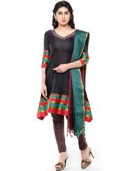 Florence Plain Poly Cotton Unstitched Dress Material -SB-3262