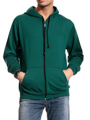 Brohood Cotton Blend Full Sleeves Casual Sweatshirt For Men - Green_SKH33017