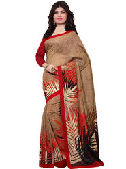 Shonaya Printed Handloom Cotton Silk Saree -Snkvs-3003-B
