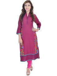 Shop Rajasthan Printed Cotton Long Straight Kurti -Sre2424
