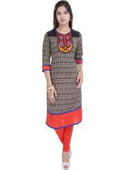 Shop Rajasthan Printed Cotton Straight Kurti -Sre2467