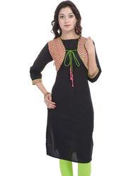 Shop Rajasthan Printed Cotton Straight Kurti -Sre2495